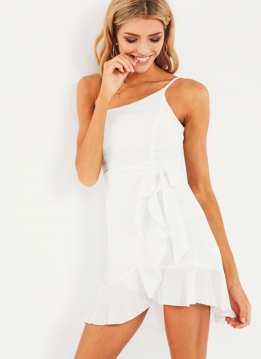 Tabby Dress, White