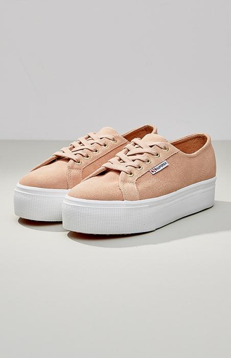 Superga - 2790 Suede Women's Sneaker, Nude