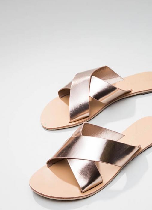 Billini - Majorca Sandal, Rose Gold Metallic