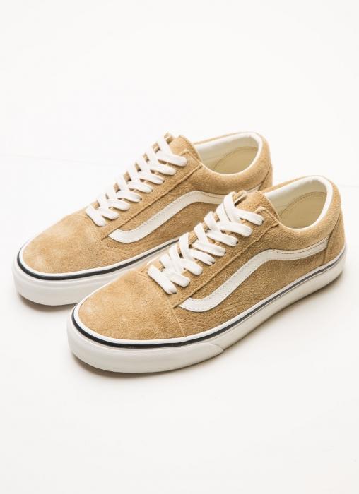 Vans - Old Skool Fuzzy Suede Sneaker, Bronze