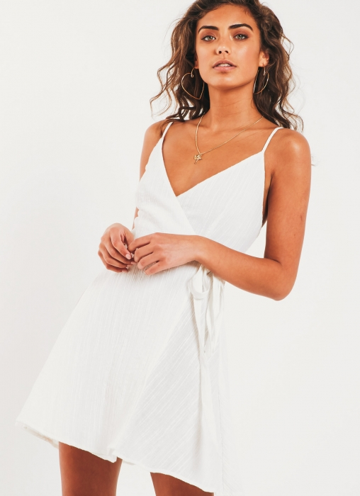 The Fifth Label - Ava Wrap Dress, White