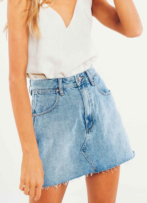 Wrangler - Repair Mini Skirt, Sunset Vintage