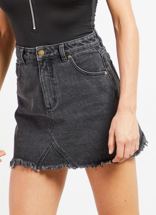 Rolla's - Claudia Skirt, Black Steel