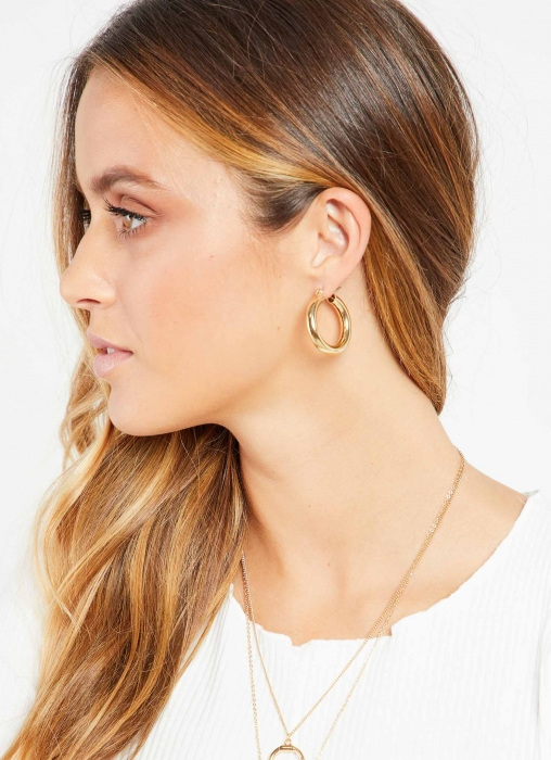 Peppermayo Jewellery - Morrissey Earrings, Gold