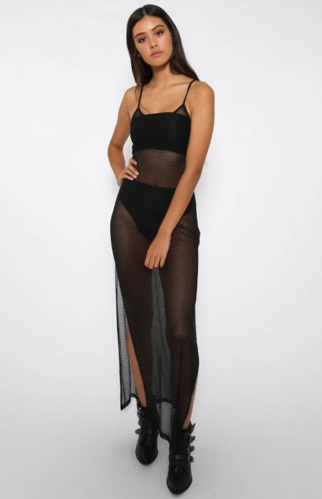 Raven Maxi Slip Dress