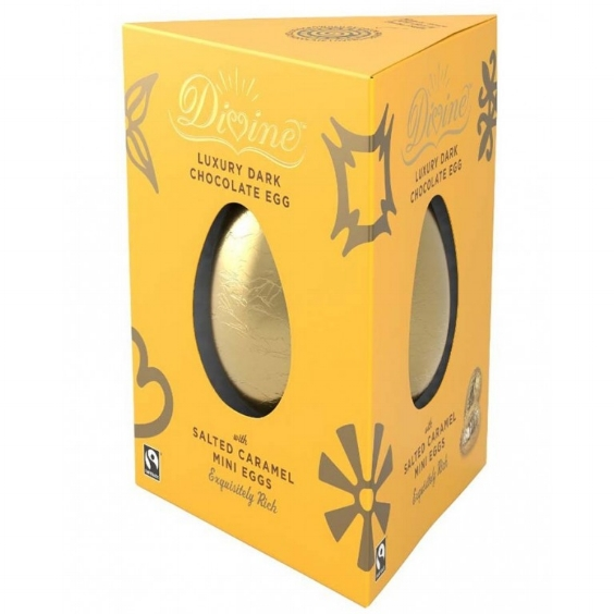 Divine Luxury, 70% Dark Chocolate Egg