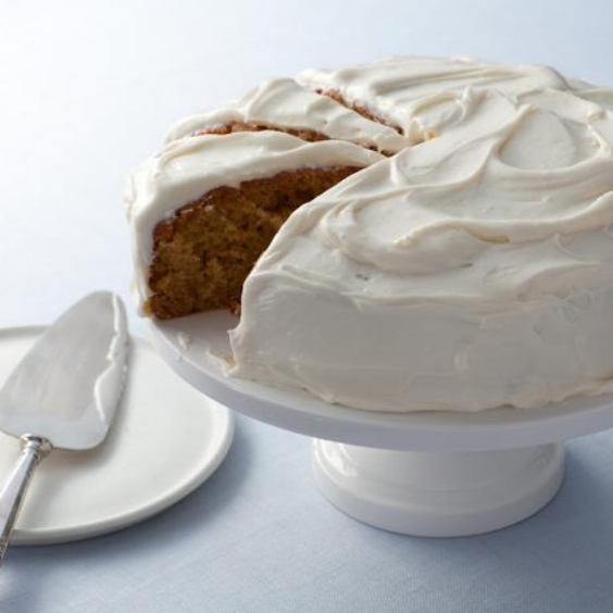 Carrot Cake, Alton Brown, https://www.foodnetwork.com/recipes/alton-brown/carrot-cake-recipe-1953483