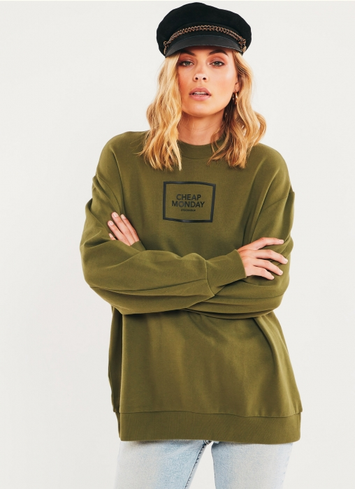 Con Sweat - Bleached Olive