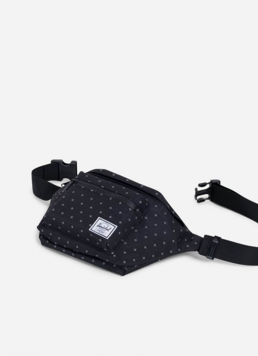 Seventeen Hip Pack - Black Gridlock