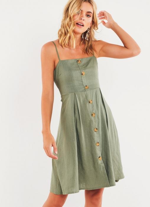 Calabasas Dress - Khaki