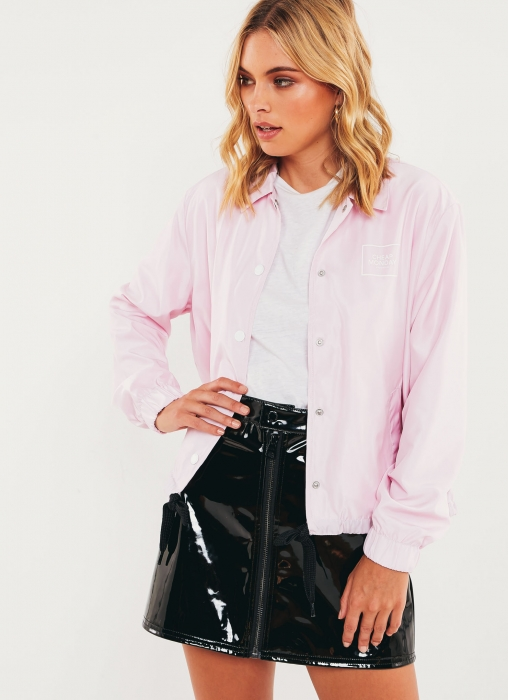 Coach Jacket - Pale Pink
