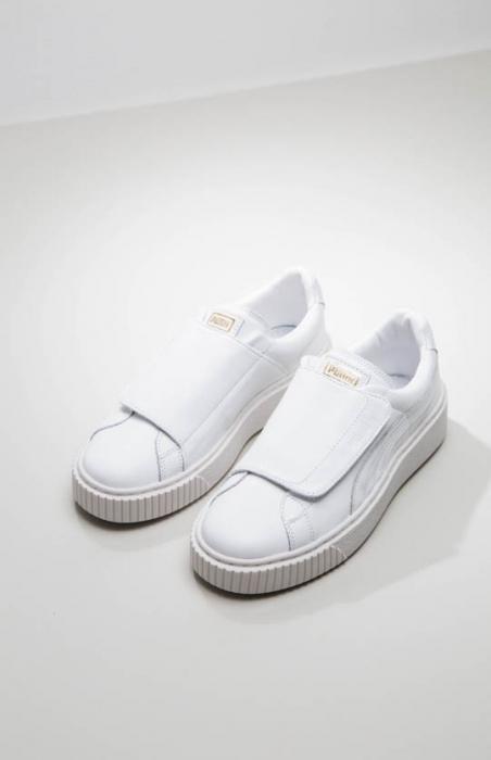 Puma - Basket Platform Strap Womens Sneaker