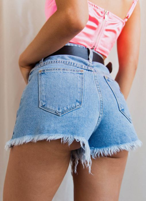 A High Relaxed Shorts