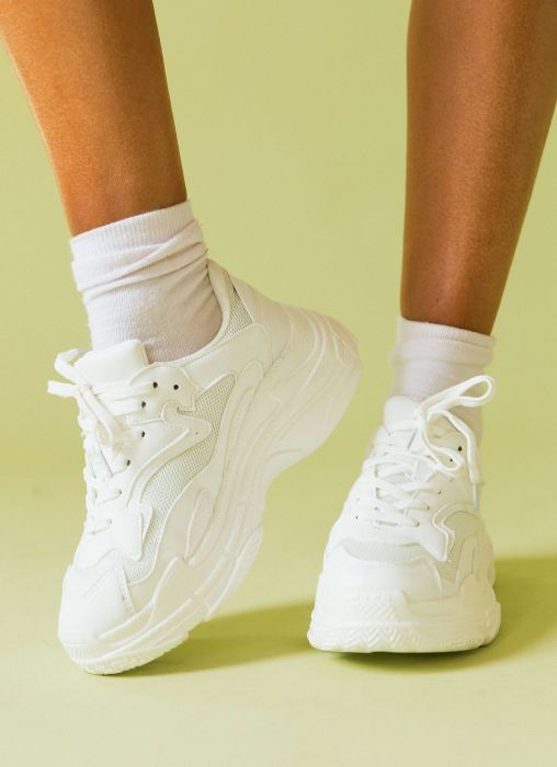 Mutha Sneakers - White Smooth