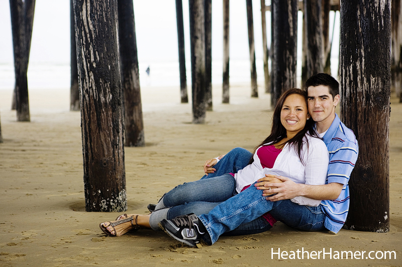 Pismo Beach Central Coast California Engagement Photos