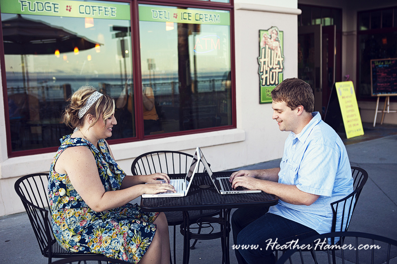 Santa Maria Engagement photographer