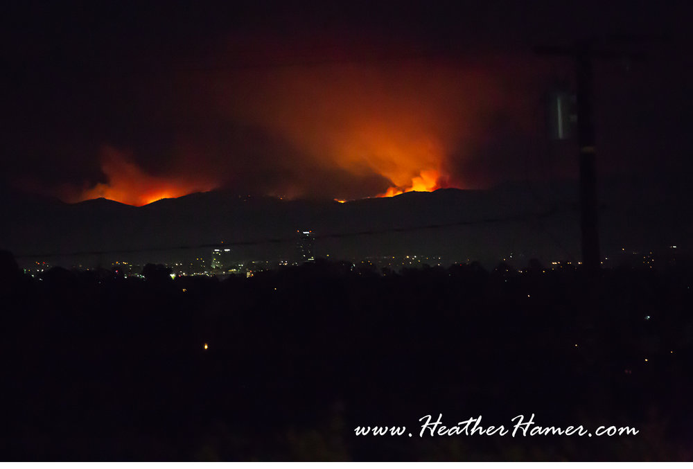 Fires in Thousand Oaks on November 9.