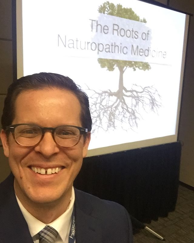 Dr. Bradford isn't one for selfies, but today is an exception. He's presenting about the history and future of #Naturopathic medicine at the #Arizona #HOSA Flex conference. Introducing high school students from all over the state to #NaturopathicMedicine!