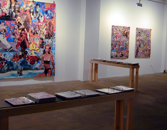 Mad Collectors,  installation shot, 2004 Paul Rodgers / 9W