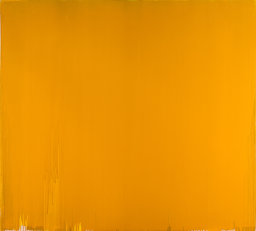 Joseph Marioni (b. 1943). Yellow Painting, 2007, acrylic and linen on stretcher, 109 x 120 inches.
