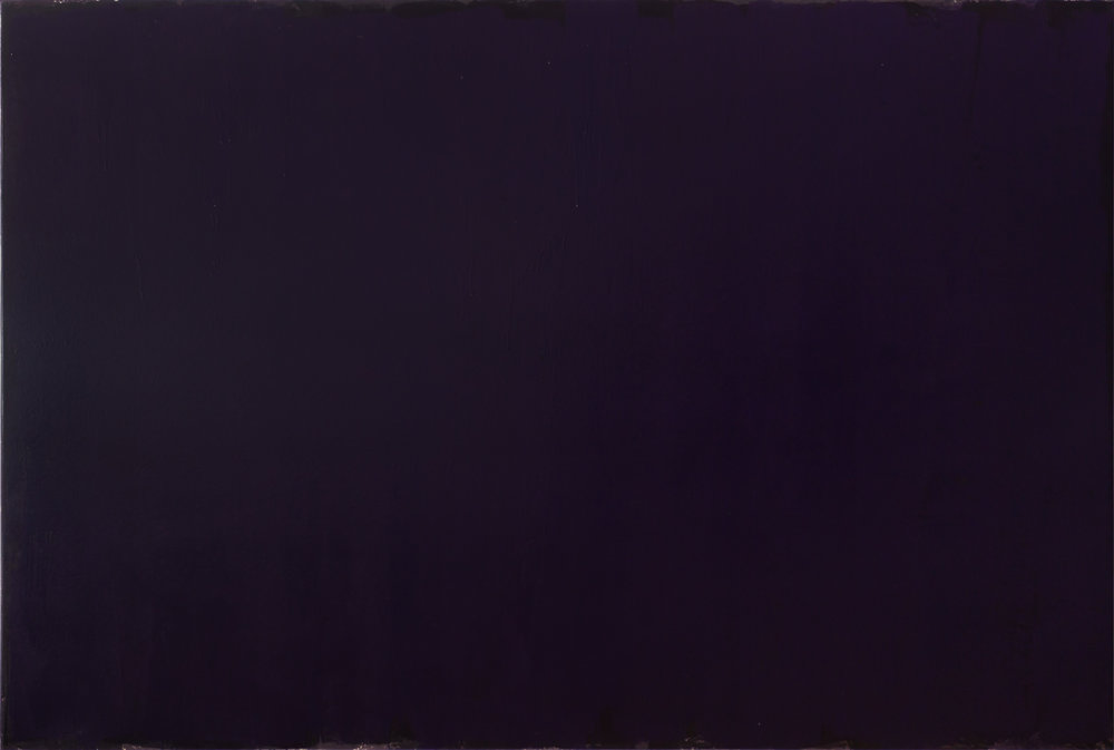 Joseph Marioni. Violet Painting, 2015 Acrylic and linen on stretcher 243. 8 x 289.5 cm (96 x 114 inches)  Recently acquired by the Philadelphia Museum of Art More on the artist