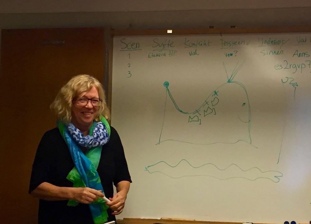 Ann Ljungberg och valen