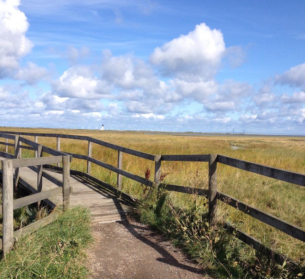 Träbron som nämns i första meningen i boken.