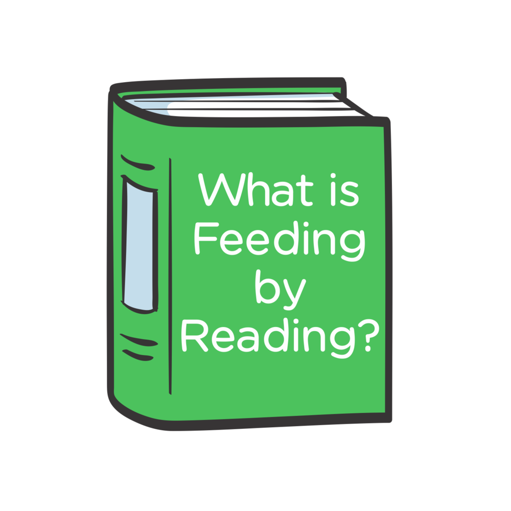 Feeding by Reading charity reading program for children fight hunger reading based community service kids Program book what is fbr