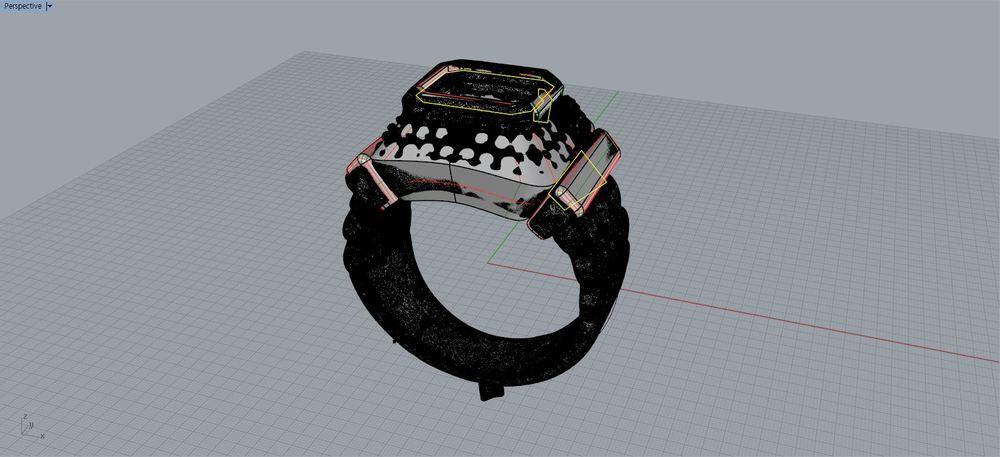 Image 6b -- Creating prong and surface