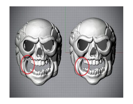 3D Scan data & Modified Final data