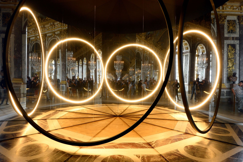 Photo: Olafur Eliasson in Versailles