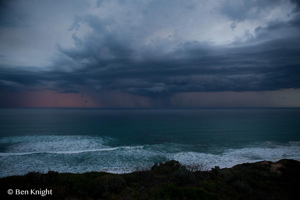 Storm, Portsea, Mornington Peninsula, Victoria, Australia