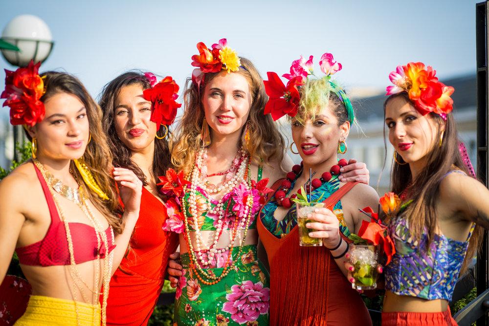 havana club party — pomba girls