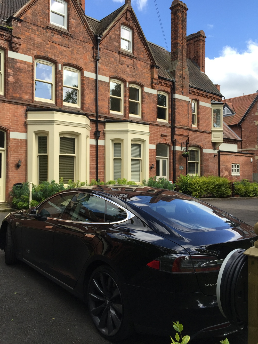 victorian restoration with chargepoint for tesla model s85