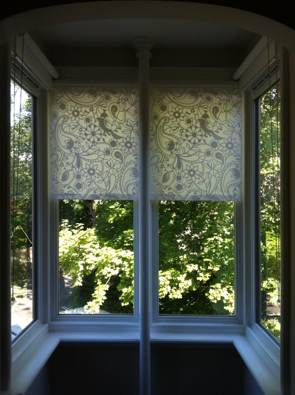 upvc casement windows forming oriel bay