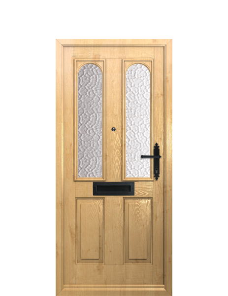 heritage range grp door nottingham in irish oak