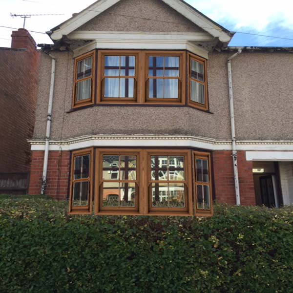 double bay sash window idea coventry west midlands