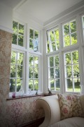 flush opening casement window
