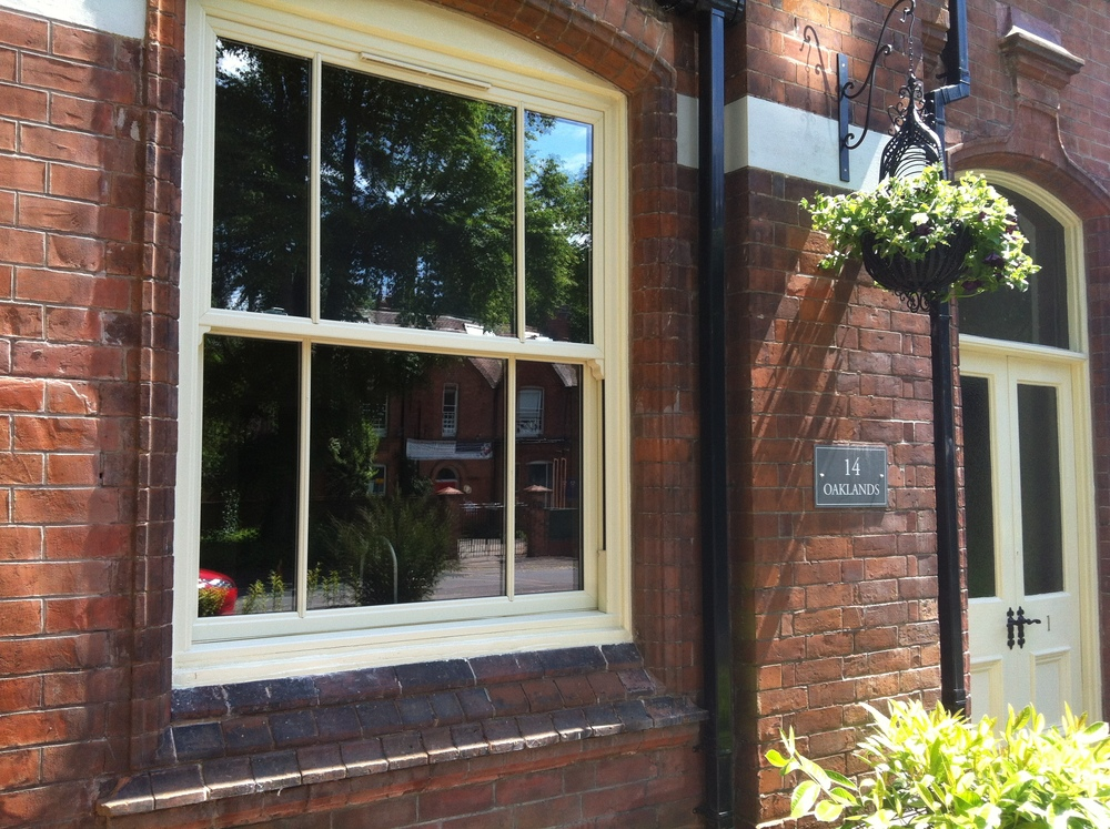 Large '3 over 3'  Heritage Range  sash window we installed recently for a customer in Coventry.