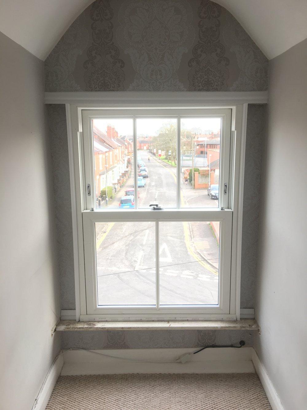 attic room heriatge upvc sash window