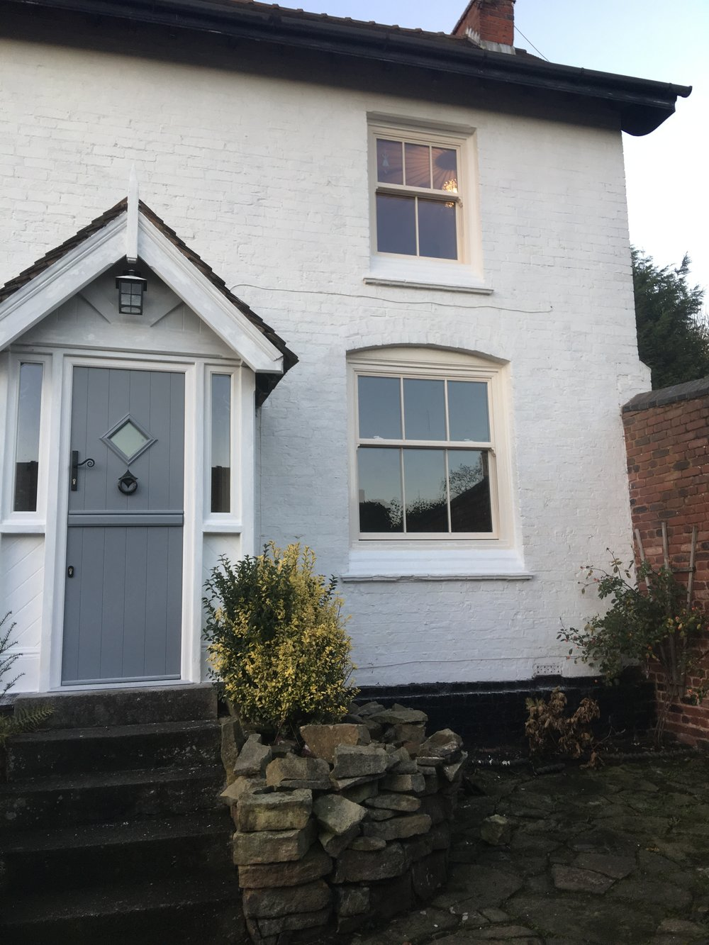 upvc victorian replica sash windows we recently fitted to a property in dudley, west midlands.