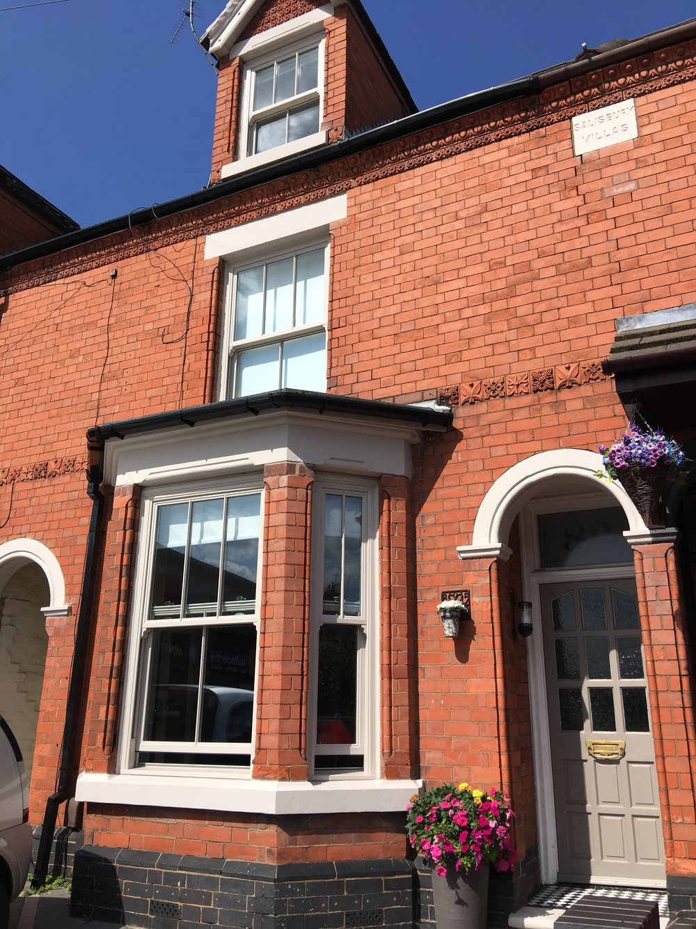 upvc sashes we installed in nuneaton