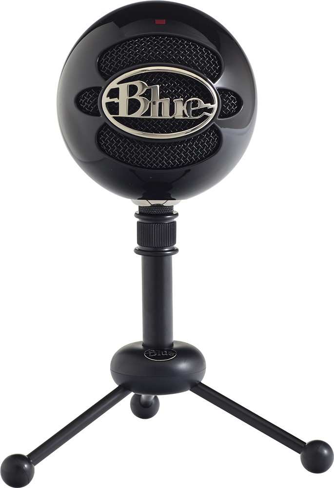 Blue Snowball iCE Condenser Microphone, Cardioid - Black - $49.00