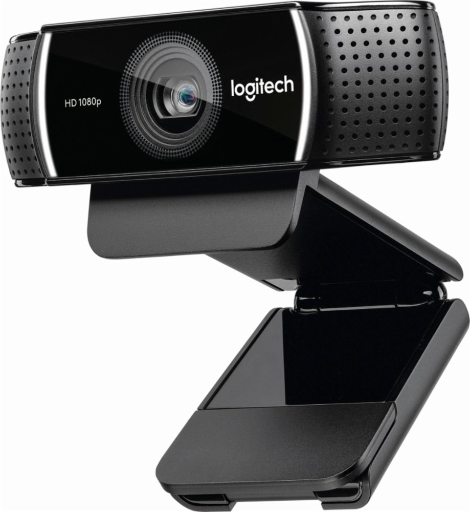 Logitech HD Pro Webcam C920, Widescreen Video Calling and Recording, 1080p Camera, Desktop or Laptop Webcam - $55.00