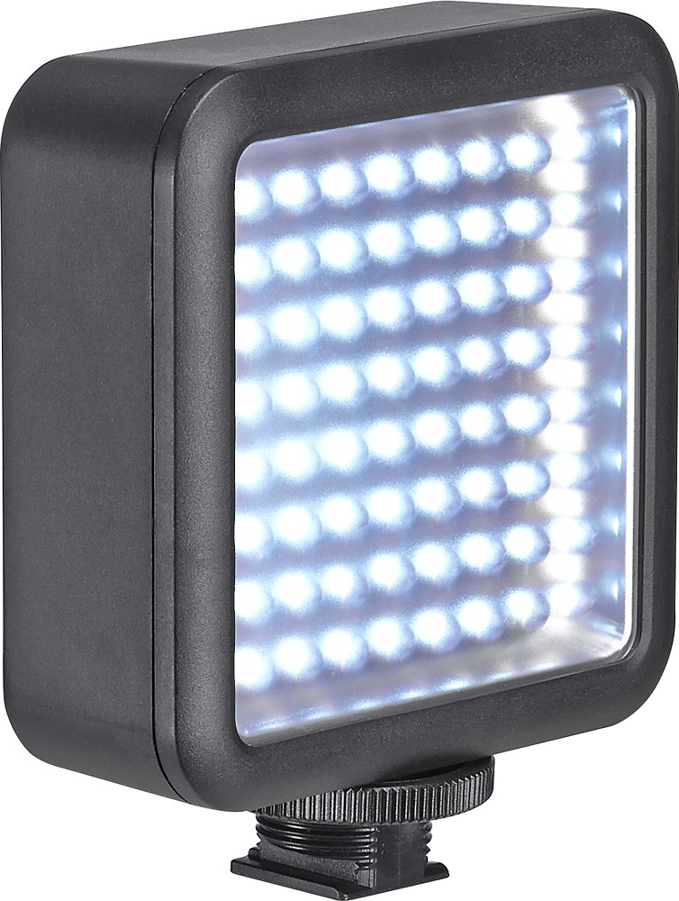 Insignia - Universal Video Light - Black - $64.00