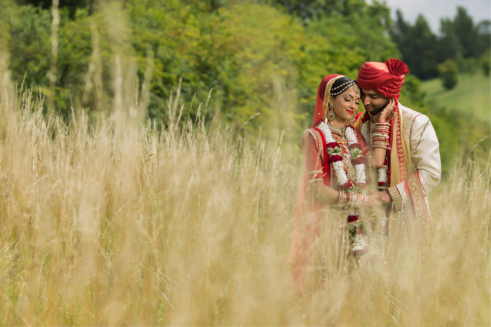 1.1.2. Gujerati Hindu Wedding Day Shoot Couple - Surrey Golf Club.jpg