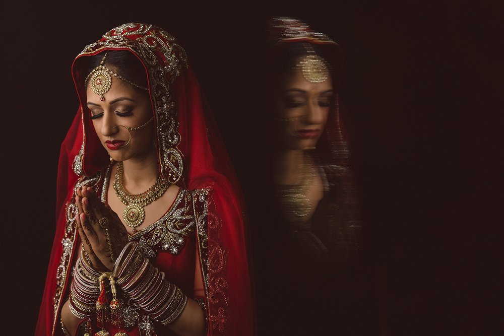 1.1.2.0 Sikh Wedding Day Shoot Portrait Bride - Hounslow Gurdwara.jpg