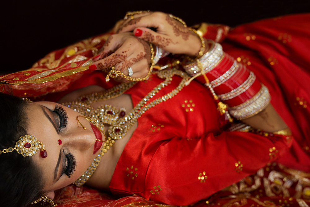 2.0.1. Sikh Wedding Day Shoot Portrait Bride - Southall Gurdwara.jpg