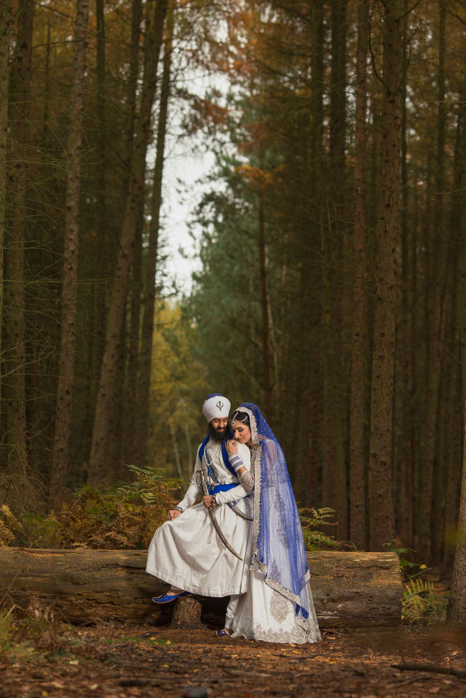 2.0.2.2 Sikh Amritdhari Wedding Day Shoot Portrait Couple - Black Park Slough.jpg