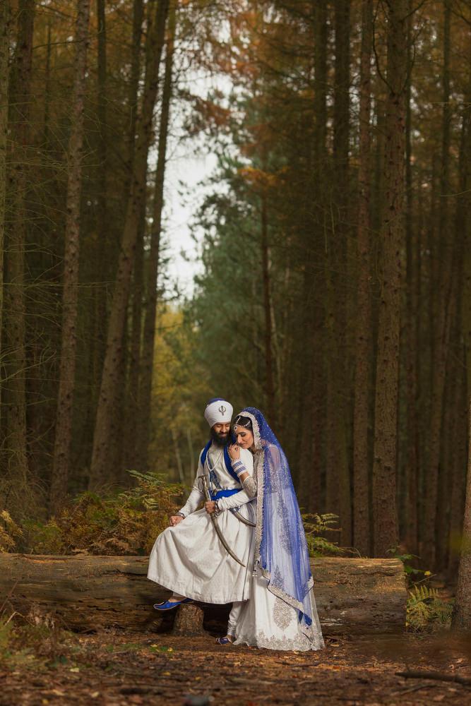 2.0.2.2 Sikh Amritdhari Wedding Day Shoot Portrait Couple - Black Park Slough.jpg